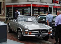1969 Mercedes-Benz 280 SL (W113) (rvandermaar) Tags: 1969 mercedesbenz 280 sl w113 mercedes mercedesbenzsl mercedessl mercedesbenzw113 mercedesw113 pagoda pagode sidecode1 import dl6921