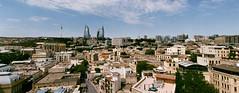 Baku Cityscape Superia (Packing-Light) Tags: 35mm azerbaijan baku caucasus eurasia nikonf6 analog emulsion film fujicolor fuji superia400 city street