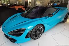 Fistral Blue (Hunter J. G. Frim Photography) Tags: supercar london mclaren 720s blue v8 turbo carbon coupe british mclaren720s