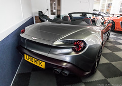Zagato (Hunter J. G. Frim Photography) Tags: supercar london aston martin vanquish zagato volante silver grey v12 convertible rare limited carbon astonmartinvanquish astonmartinvanquishzagatovolante supervettura