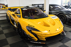 GTR (Hunter J. G. Frim Photography) Tags: supercar london mclaren p1 gtr yellow v8 british turbo wing racecar mclarenp1gtr supervettura