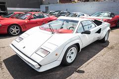 All White (Hunter J. G. Frim Photography) Tags: supercar london lamborghini countach v12 italian white bianco classic wing vintage lamborghinicountach joe macari