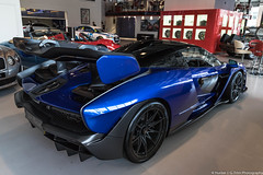 Crazy (Hunter J. G. Frim Photography) Tags: supercar london mclaren senna blue v8 wing turbo carbon coupe mclarensenna hypercar joe macari