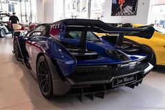 Wing (Hunter J. G. Frim Photography) Tags: supercar london mclaren senna blue v8 wing turbo carbon coupe mclarensenna hypercar joe macari