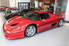 Ferrari F50 (Hunter J. G. Frim Photography) Tags: supercar london ferrari f50 red rosso corsa wing italian carbon coupe rare limited v12 ferrarif50 joe macari
