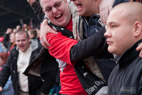 Soccer Fans of 1. FCU Berlin