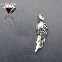 Pendentif plume aile d'ange en argent 925 (olivier_victoria) Tags: argent 925 pendentif chaine aile ange plume
