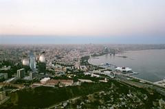 Baku Panorama Superia (Packing-Light) Tags: 35mm azerbaijan baku caucasus eurasia nikonf6 analog emulsion film fujicolor fuji superia400 city street