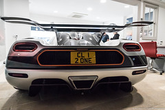 Wing (Hunter J. G. Frim Photography) Tags: supercar london koenigsegg agera v8 swedish hypercar wing silver white coupe one1 koenigseggone1 koenigseggagera n supervettura