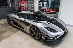 Carina Lima (Hunter J. G. Frim Photography) Tags: supercar london koenigsegg agera v8 swedish hypercar wing silver white coupe one1 koenigseggone1 koenigseggagera n supervettura