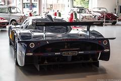 Loud (Hunter J. G. Frim Photography) Tags: supercar london maserati mc12 gt1 v12 italian carbon coupe racecar wing blue maseratimc12 maseratimc12gt1 joe macari