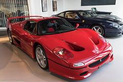Hardtop (Hunter J. G. Frim Photography) Tags: supercar london ferrari f50 red rosso corsa wing italian carbon coupe rare limited v12 ferrarif50 joe macari
