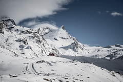 Snowy mountains (Rico the noob) Tags: dof z6 2470mm comerge nature switzerland outdoor clouds zermatt schweiz published house landscape sky 2470mmf4s mountains 2018 snow mountain