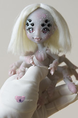 [Commision] Sakura Spider (koalakrashdolls) Tags: bjd doll dolls nyxyscreations nyxys spider spiders koalakrash koala krash silk kawaii creepy cute toy art arttoy artdoll