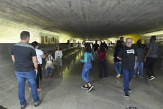Visitação - Congresso Nacional (Senado Federal) Tags: congressonacional visita brasília brasil df senadofederal coletivo túneldotempo visitante visitação