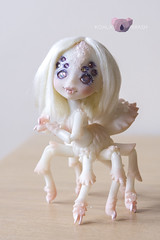 [Commision] Silk Nyxys Creations (koalakrashdolls) Tags: bjd doll dolls nyxyscreations nyxys spider spiders koalakrash koala krash silk kawaii creepy cute toy art arttoy artdoll