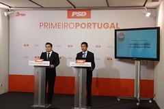 Álvaro Almeida e Joaquim Sarmento apresentam proposta do PSD para a gestão e controlo da despesa pública