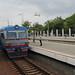 Elektricha at Odessa Holovny train station