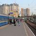 Night train to Kyiv at Odessa Holovny train station