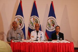 Prime Minister's Press Conference on Sanctuary Belize