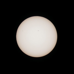 Transit of Mercury (2016-05-09 at 12:20 UT) (tietoukka) Tags: aurinko merkurius ylikulut sun mercury astronomicaltransits sunspots auringonpilkut activeregion12542