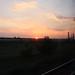 Sunset near Berezivka