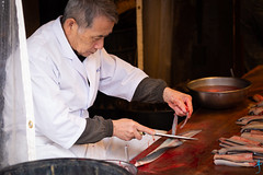 川豐鰻魚飯-去骨 (迷惘的人生) Tags: 成田市 千葉縣 日本 canon 5d3 5dⅲ 70200mm 川豐鰻魚飯 鰻魚飯 鰻魚