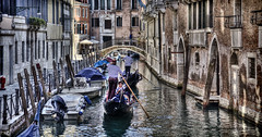 """Gondolas with tourists • <a style=""""font-size:0.8em;"""" href=""""http://www.flickr.com/photos/45090765@N05/48316333691/"""" target=""""_blank"""">View on Flickr</a>"""