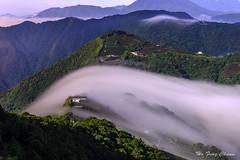 飛過千山萬水_DSC8726N (何鳳娟) Tags: 武界 過山雲 日出 茶園 山岳 風景 夜景