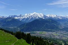Mont Blanc @ Hike to Chalets de Varan (*_*) Tags: hiking mountain montagne nature randonnee trail sentier walk marche passy 74 hautesavoie france europe faucigny summer ete 2019 june refuge savoie montblanc