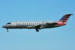 N246PS (American Eagle - PSA Airlines) (Steelhead 2010) Tags: americanairlines americaneagle psaairlines bombardier canadair crj200 crj yyz nreg n246ps