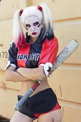 Harley Quinn - Japan Expo (Florent Joannès) Tags: shooting shoot photo photography portrait photographie modeling paris mode makeup cosplay convention 50mm 2019 comics dc
