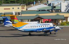 VQ-TBC (Lyndon Henry) Tags: embraer emb 120 brasilia intercaribbean george charles castries stlucia tlpc slu travel vacation holiday fly plane airport aircraft