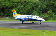 VQ-TVG (Lyndon Henry) Tags: embraer emb 120 brasilia intercaribbean george charles castries stlucia tlpc slu travel vacation holiday fly plane airport aircraft