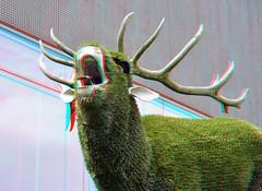 Coda Museum Apeldoorn 3D (wim hoppenbrouwers) Tags: coda museum apeldoorn 3d anaglyph stereo redcyan