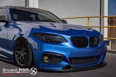 Corey 235i F22 Bag install (StudioRSR) Tags: bmw 235i 2 series f22 bagged slammed air airbags low german studiorsr