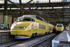 TGV Postal à Paris Charolais (Alexoum) Tags: sncf poste tgv paris mâcon cavaillon charolais train histoire parc