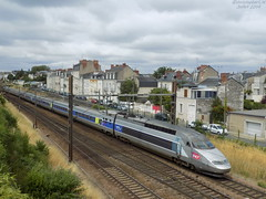 TGV Atlantique n°405 (ChristopherSNCF56) Tags: tgv atlantique rame 405 train angers sncf