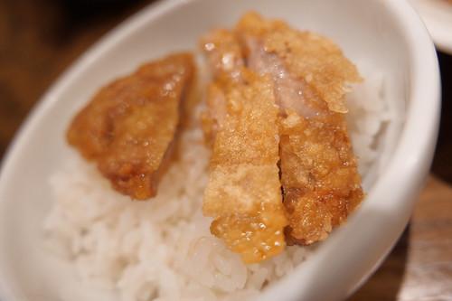 排骨 on the rice 大麦三元豚排骨冷やし担々麺 Renge no Gotoku 07