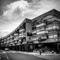 Barbican architecture (Flamenco Sun) Tags: period retro street life architecture london