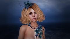 ↪ Feeling blue  ↩ (AιѕƖe) Tags: 7deadlyskins zibska oxxxcuro mermaidcove genus secondlife