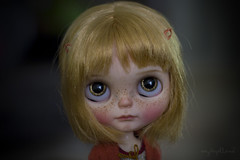 Custom #65 - Commission (Dolly Adventures in the Galland Household) Tags: blythe doll custom collectibles childhood cute freckles cassiopeia spice takara art artdoll dollartistry dollphotography