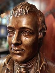 Robert Burns bust. The Globe Inn High  Street Dumfries (Marshall Smart) Tags: robert burns the bard bust teh pub dumfries globe inn high street