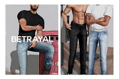 Mykel Denim @ MAN CAVE (Rhuigi Bourne) Tags: betrayal betrayalsl mykel denim jeans mens menswear fashion streetwear designer ss19