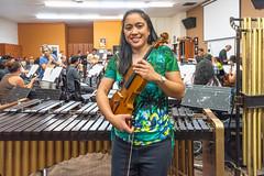Me in Front of the Filipino American Symphony Orchestra (SCSQ4) Tags: birthday break breaktime california fasoorchestrarehearsal favorite favoritepicture filipinoamericansymphonyorchestra glendale glendaleadventistacademy happy rehearsal rehearsalbreak violin violinist