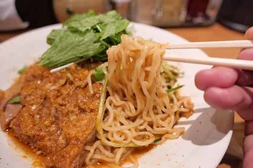 大麦三元豚排骨冷やし担々麺 Renge no Gotoku 08