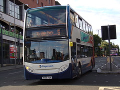Stagecoach ADL Enviro 400 (ADL Trident) 19089 MX56 FUH (Alex S. Transport Photography) Tags: bus outdoor road vehicle stagecoach stagecoachmidlandred stagecoachmidlands adlenviro400 enviro400 e400 adltrident route5 19089 mx56fuh