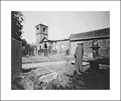 Wentworth Old Church (oldeyes47) Tags: 8x10 fomopan100 film wentworth southyorkshire filmphotography pinholecamera largeformat lenslessphotography withoutalens