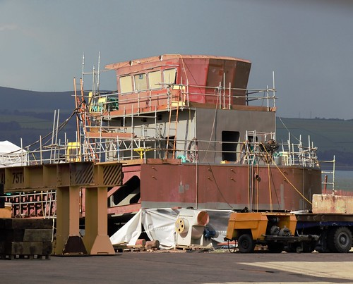 Hull 803 superstructure