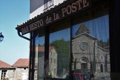 café de la poste (Jeanne Menjoulet) Tags: café poste nozières ardèche resto
